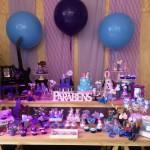Festa 18/07/2015 - Luiza e Manuela - Temas: Frozen e Violetta